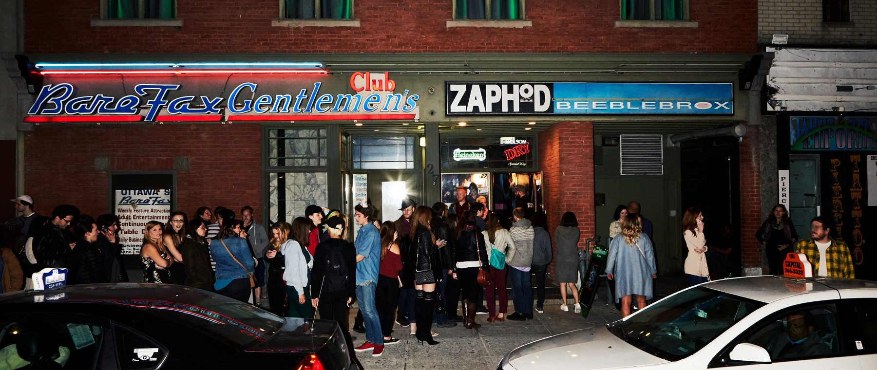 Outside of Zaphod's before it closed and reopened as Club 27. Photo: Remi Theriault