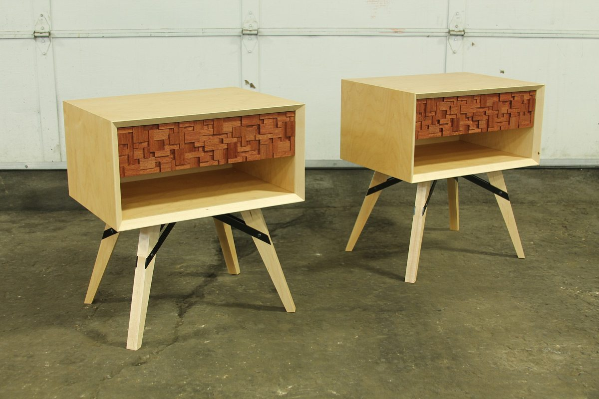 James bedside tables. Photo: Courtesy of Theo Stoppels