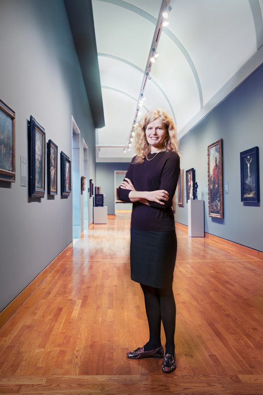 Anke Kausch, art historian. Photo: Marc Fowler