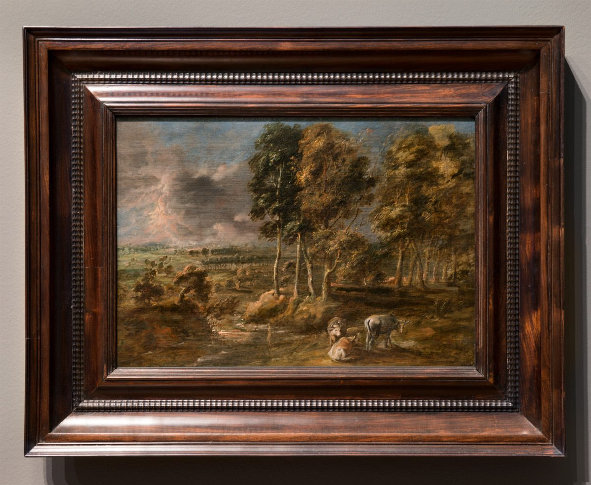 Stormy Landscape, Peter Paul Rubens, at the National Gallery of Canada. Photo: Marc Fowler