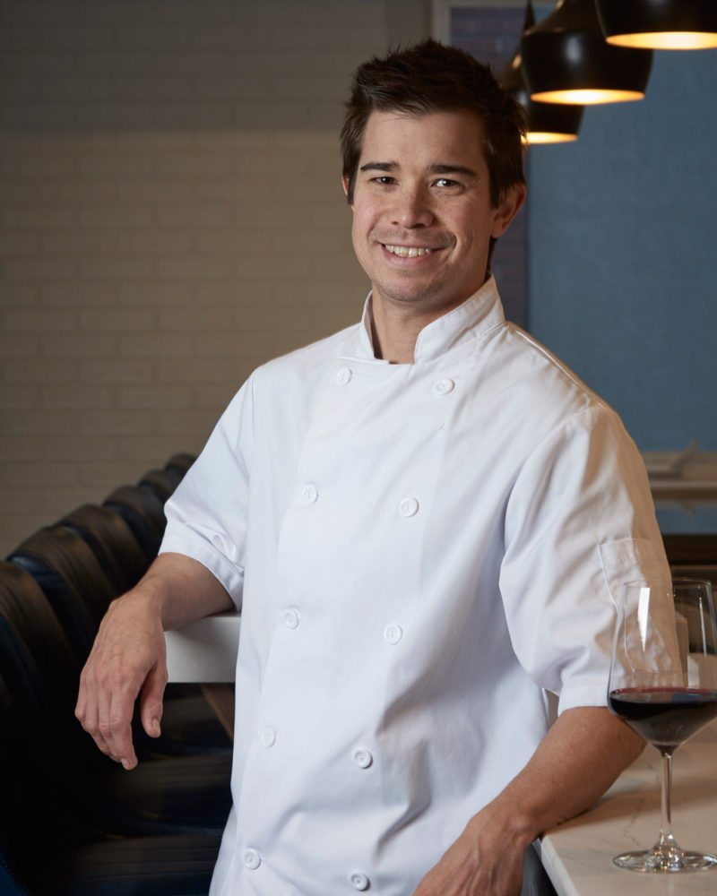 Stofa's chef Jason Sawision. Photo: Andre Rozon