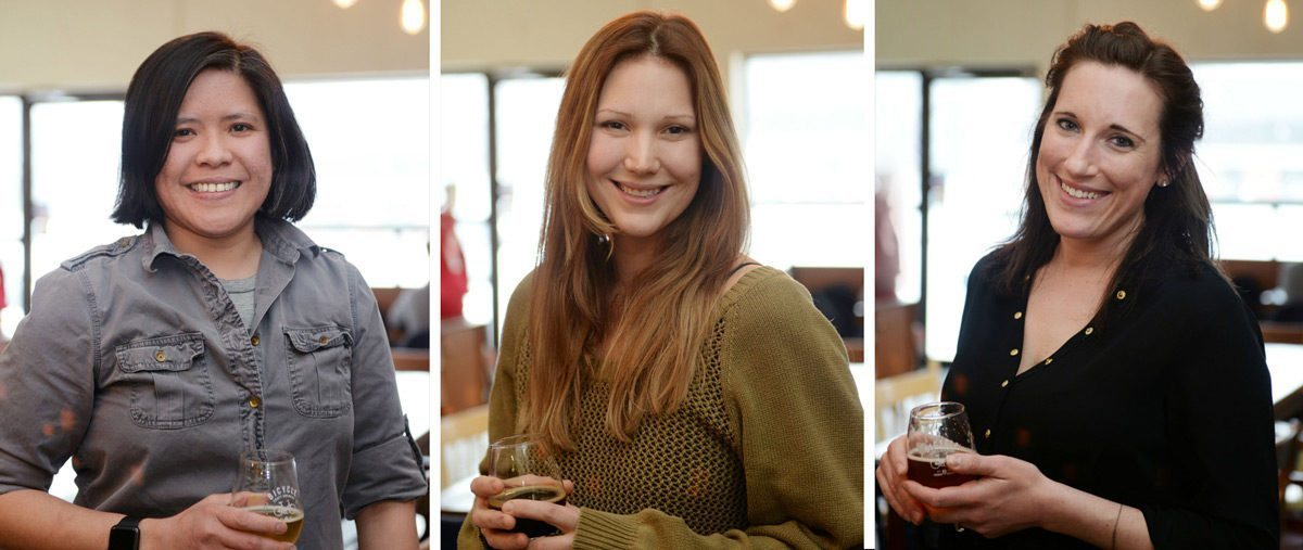 Left: West de Castro, Clover; Katie Ardington, 24 Sussex; Natali Harea, Nat's Bread Co. Photo: Melanie Shields Photography