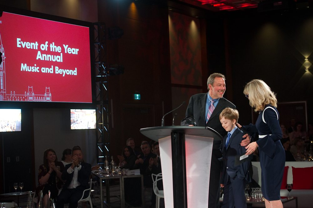 Event of the Year Annual- Music and Beyond, accepted by Julian Armour. Photo: Mark Halleron