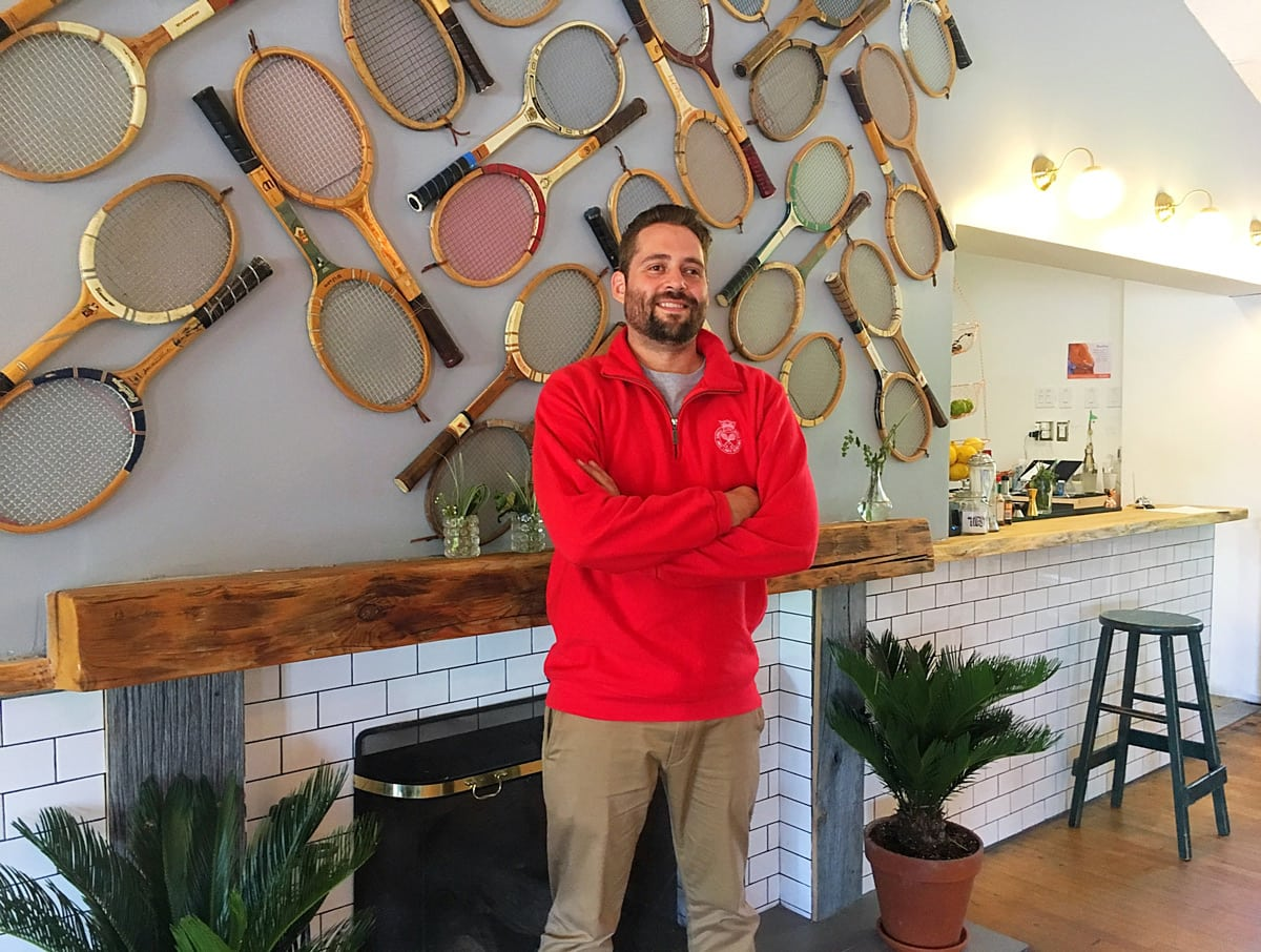 Adrian Vezina, who also owns The Belmont, has partnered with the Ottawa Tennis and Lawn Bowling Club to launch The Cameron restaurant