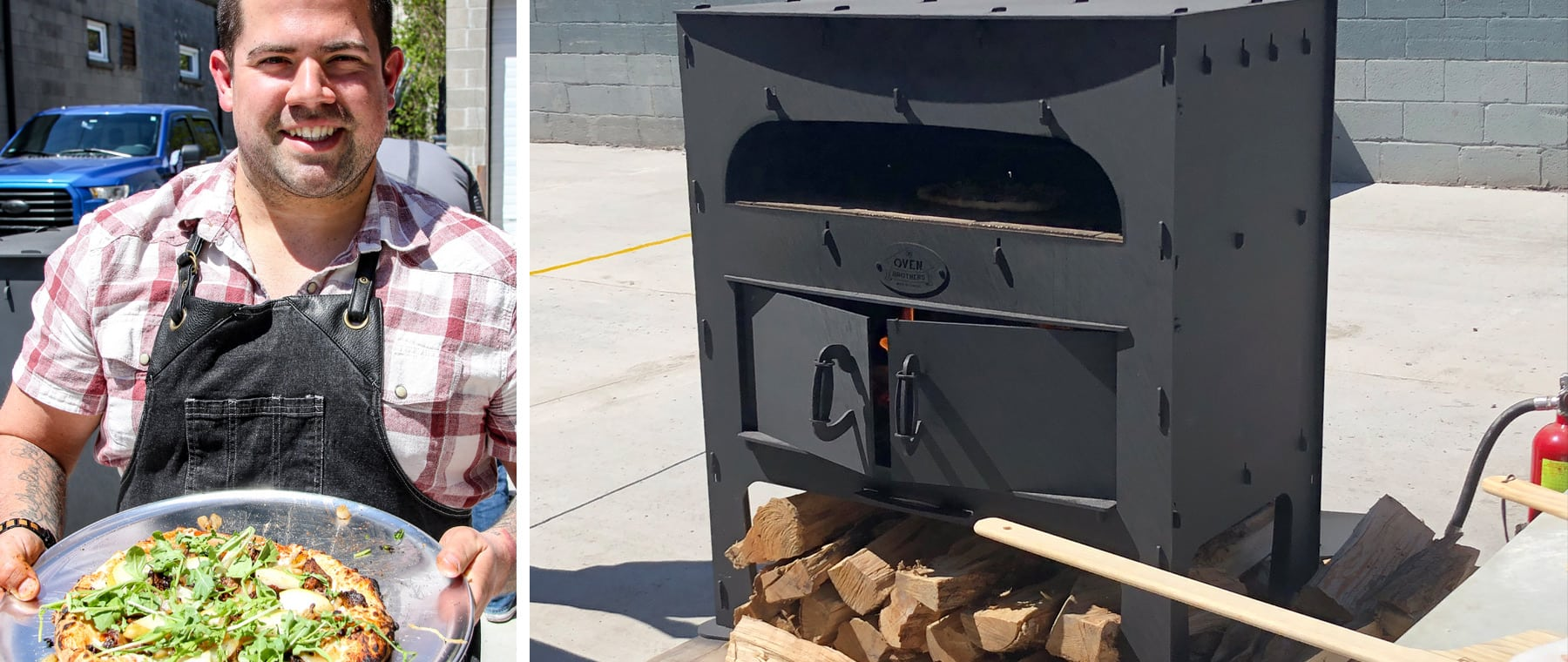 Oven Brothers backyard pizza ovens — made in Ottawa