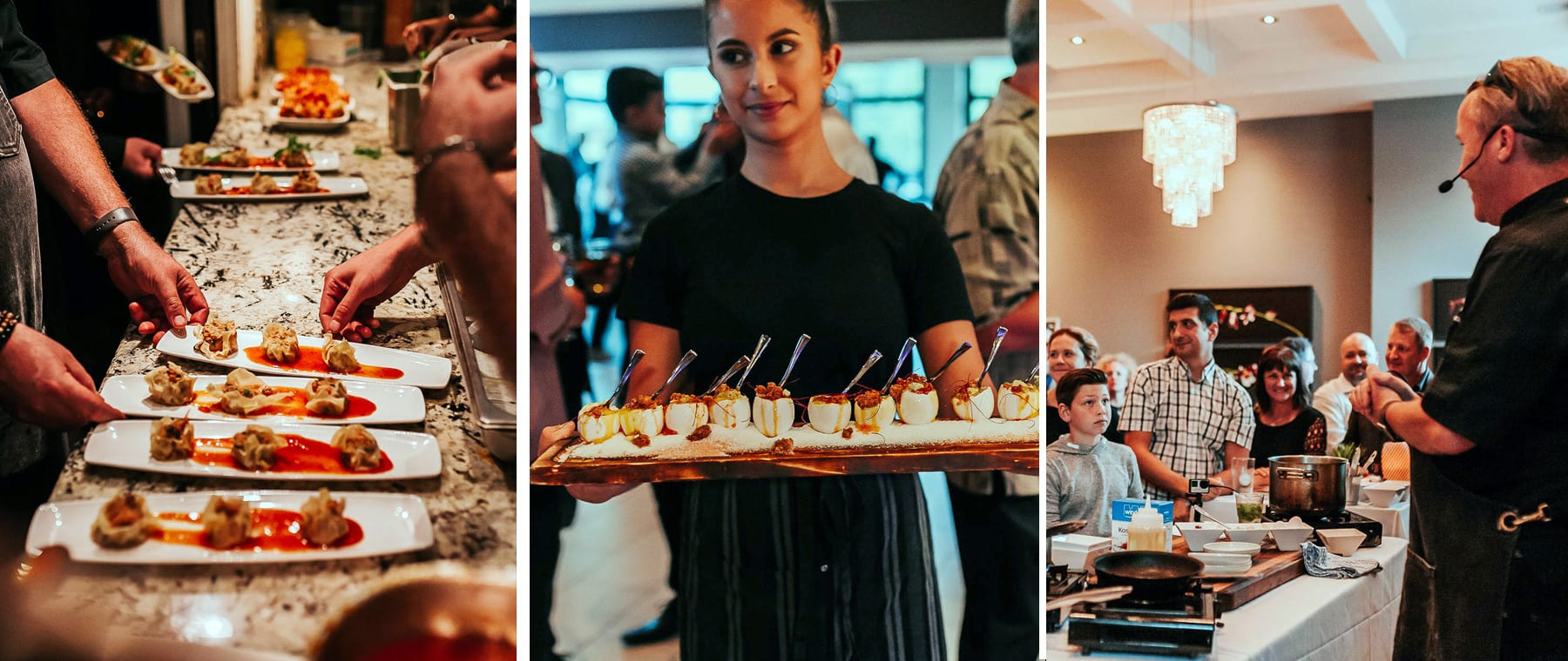 Celebrated American chefs share spotlight with Michael Blackie at NeXT event