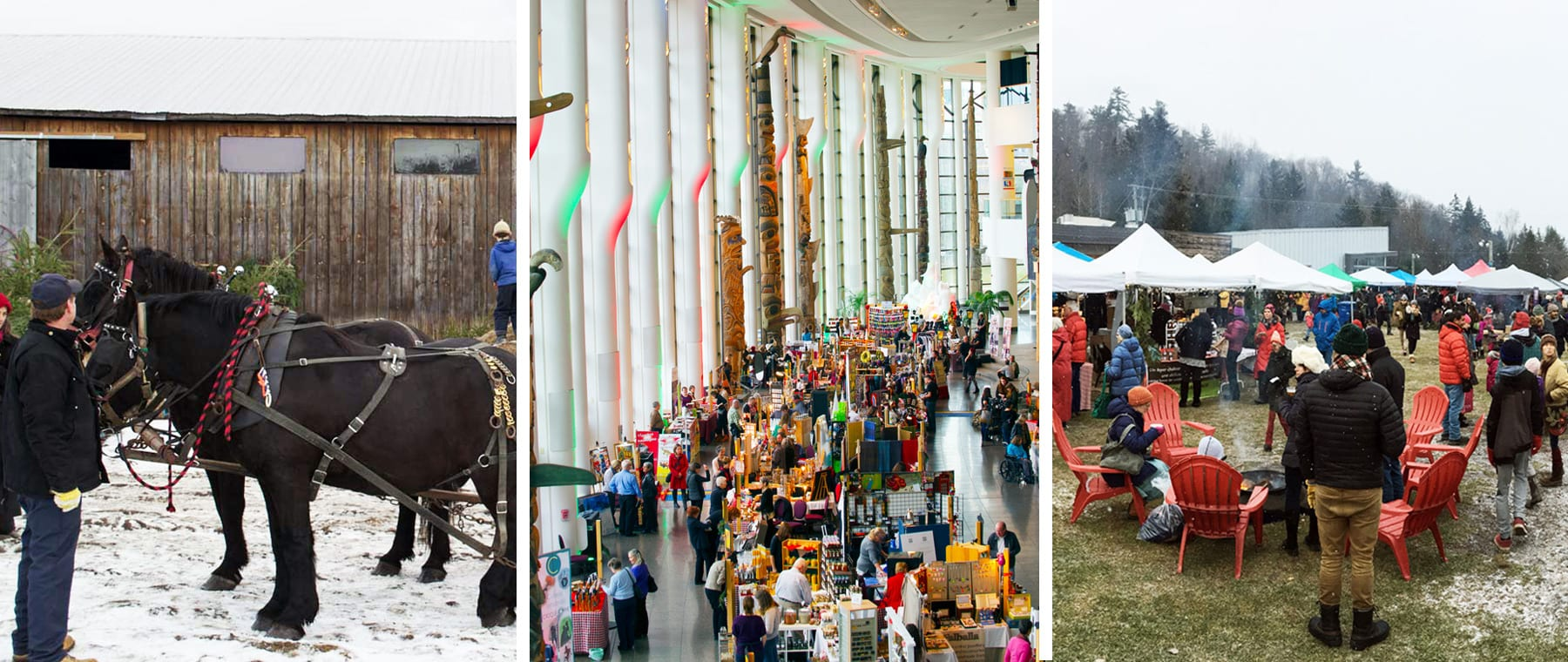 Horses, sleighs, bonfires, gifts — and plenty of food (and beer!) Upcoming Ottawa-area Christmas Markets