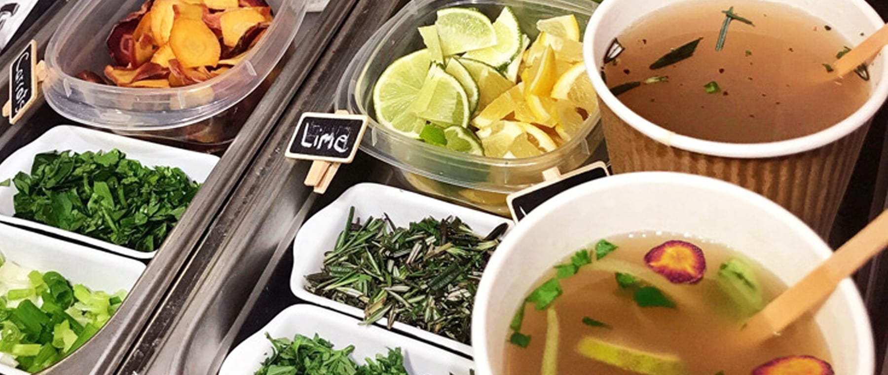 City's first bone broth bar opens — Muckleston & Brockwell ladle out chicken & beef 'tea'