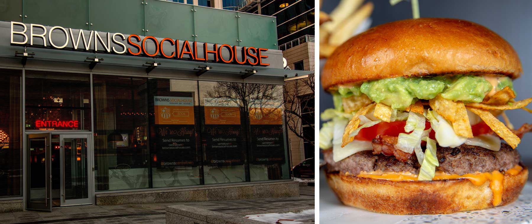 Western Canadian chain Browns Socialhouse opens on Elgin