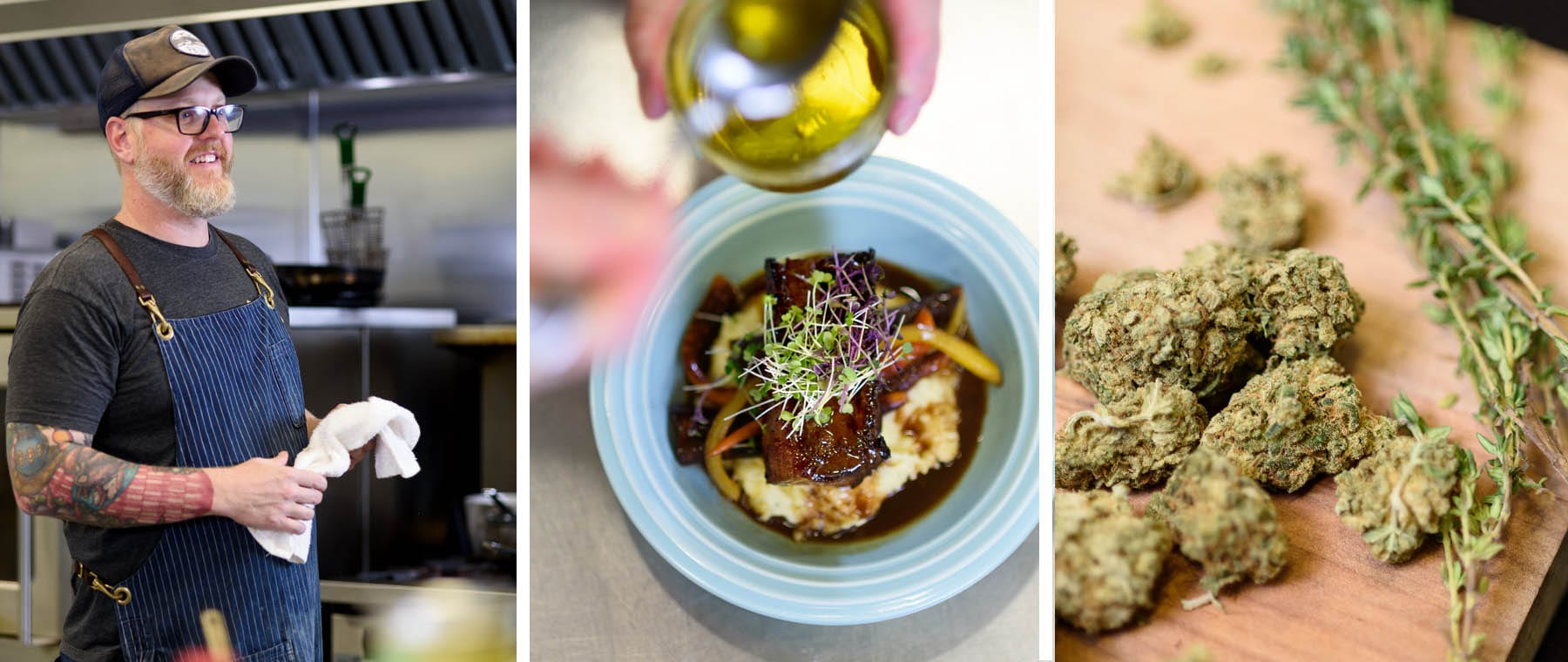 Cooking with Cannabis: Ottawa chef Mike Derouin prepares the perfect four-course meal