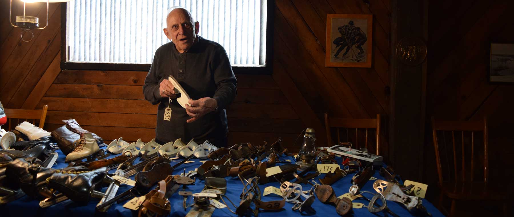 """They're not only buffalo bones, they're skates"" — Inside the fantastic collection of Jean-Marie Leduc"