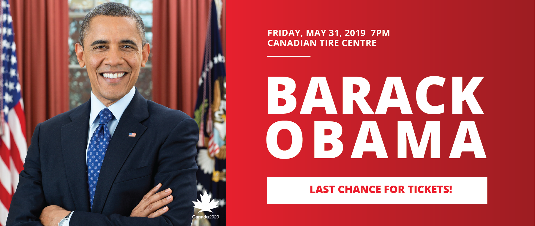 Barack Obama Live in Ottawa on May 31