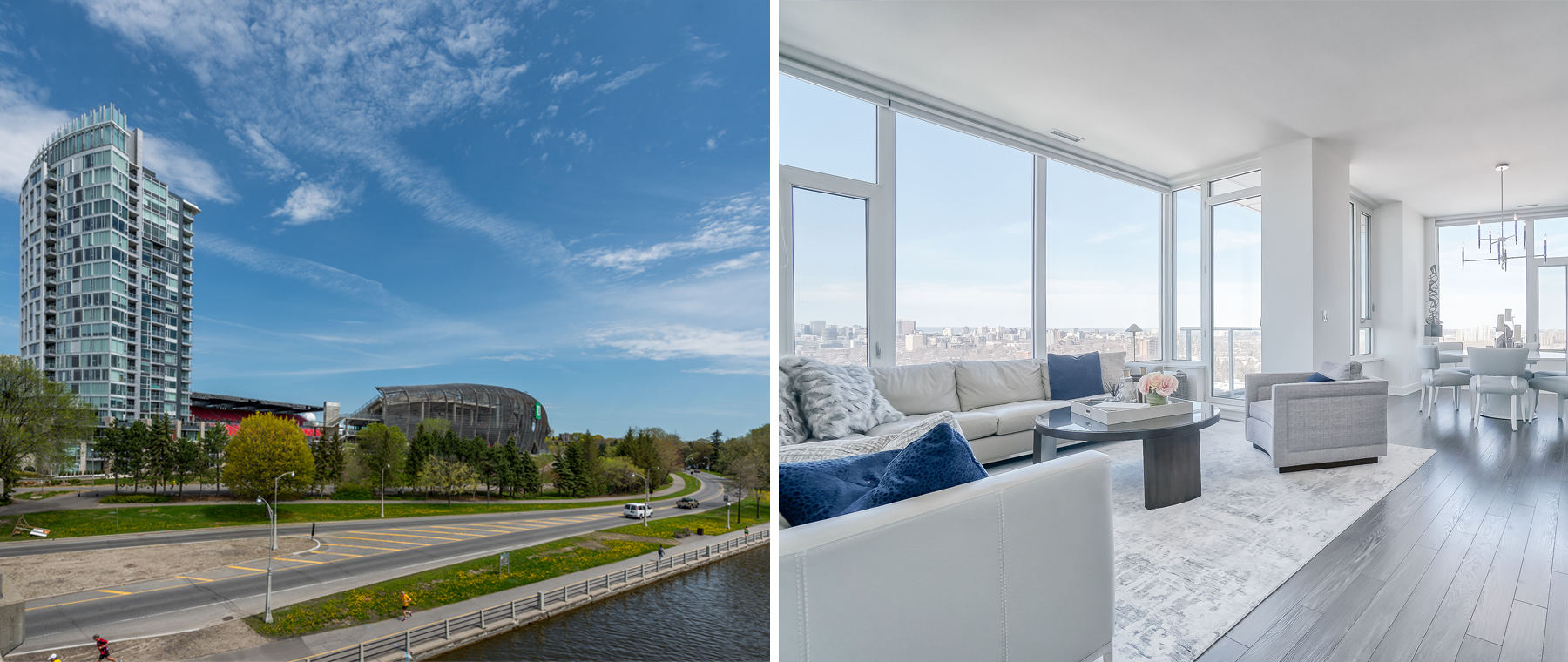 Condo of the Week: $2 million for a penthouse overlooking Lansdowne Park