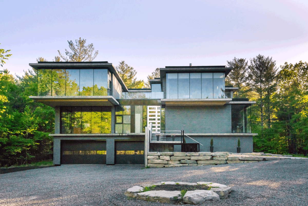 House Of The Week 3 2 Million For A Modern Mansion In Dunrobin