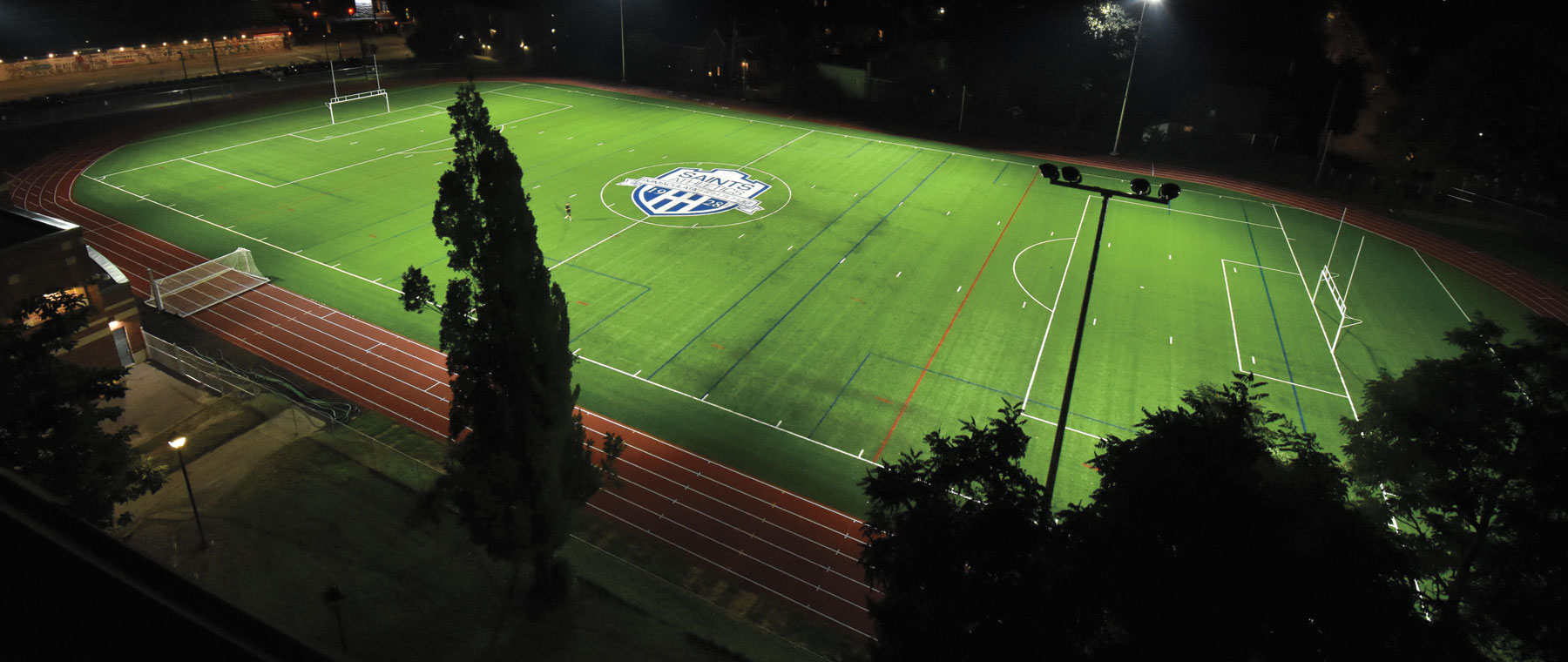 Two Views: debating Immaculata High School's fancy new field