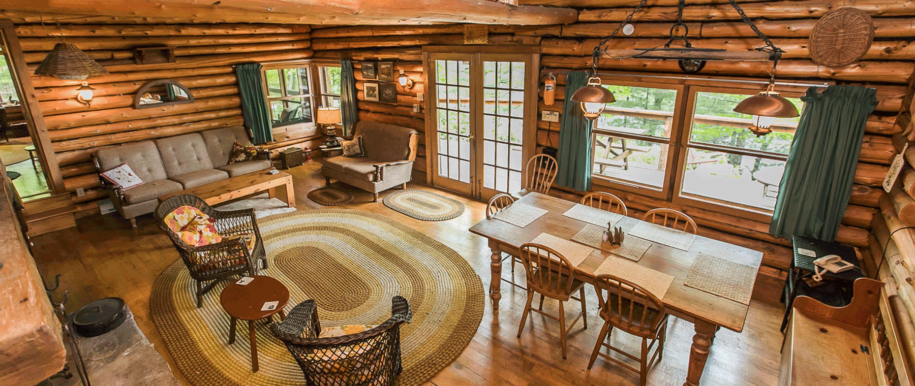 Cottage of the Week: $740K for a log cabin on Opinicon Lake