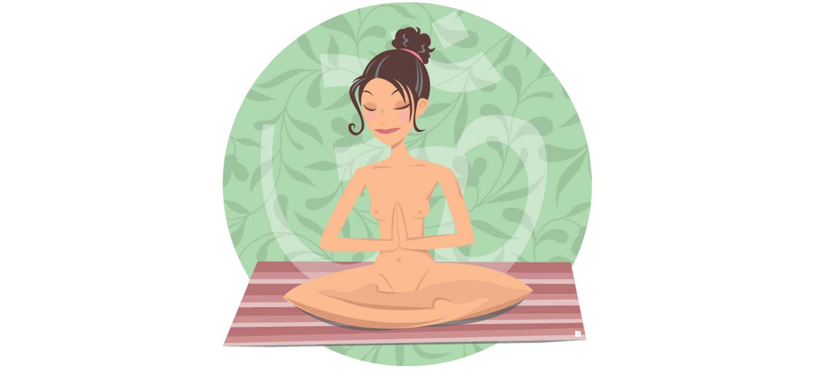Nude yoga? A revealing look at a clothes-free class