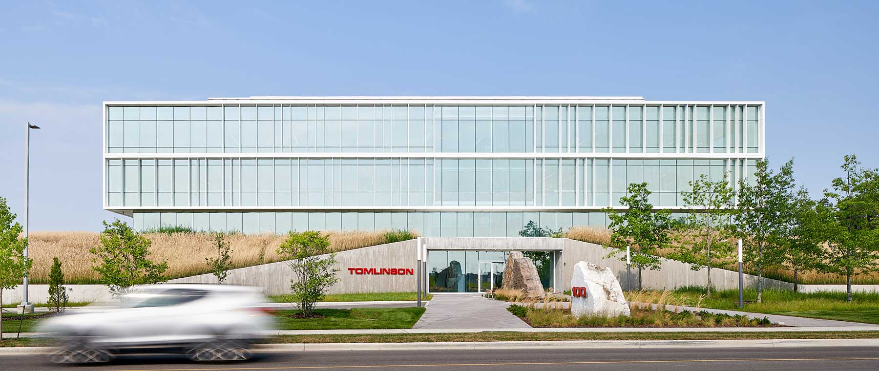 The Core, Tomlinson's new HQ, is a bright, bold space for a growing company