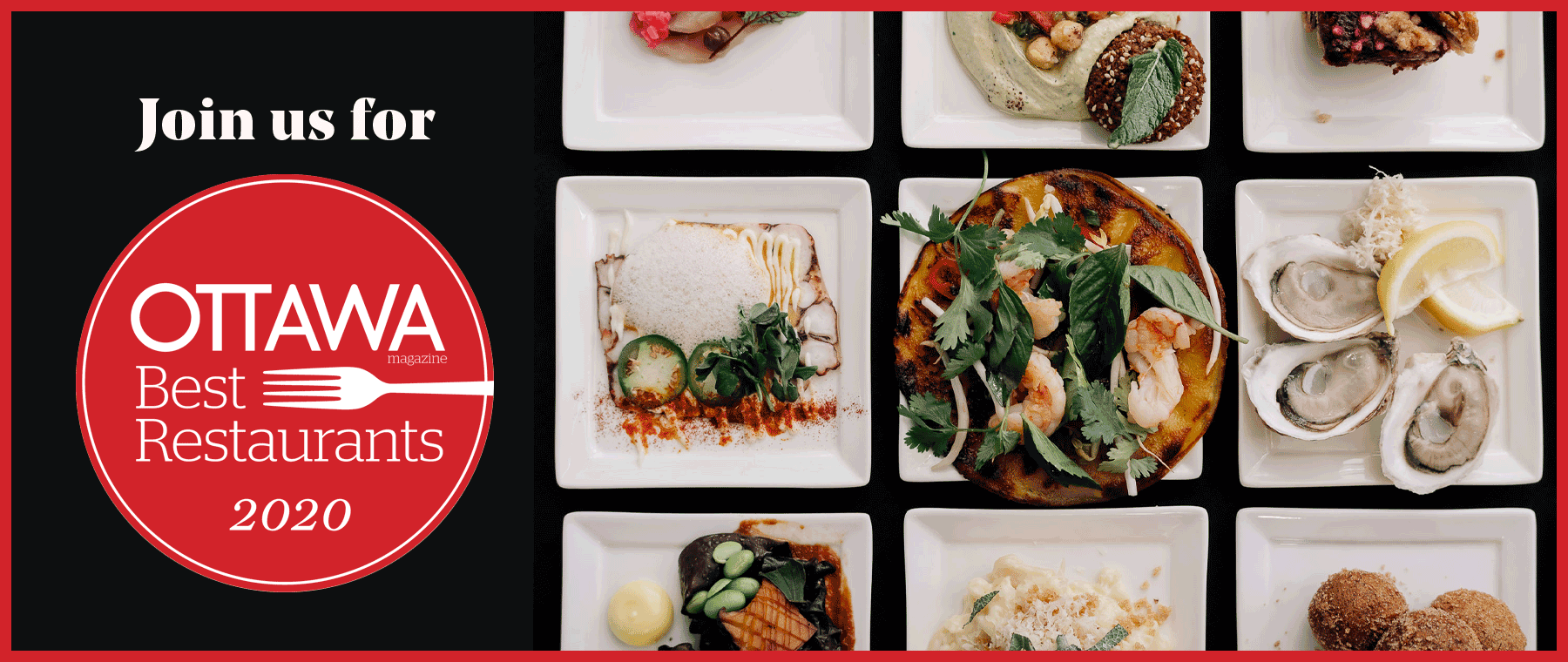 Early-bird tickets for Ottawa Magazine's Best Restaurants 2020 event on sale now