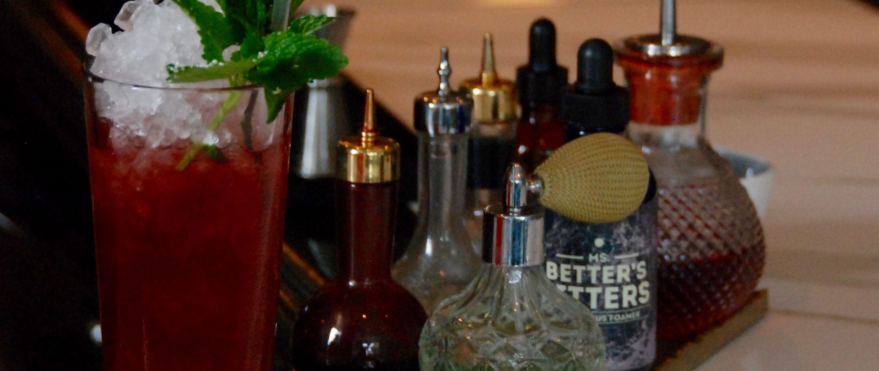 What's in that drink? Behind the bar at Supply and Demand