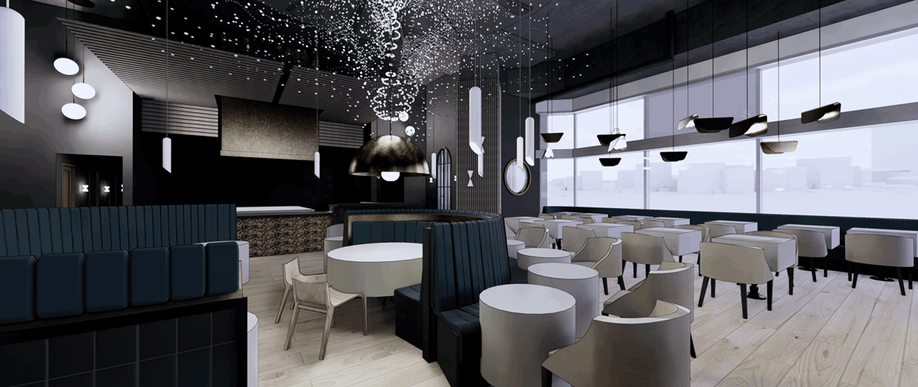 A peek inside Aiana, the new upscale restaurant in the old Hy's