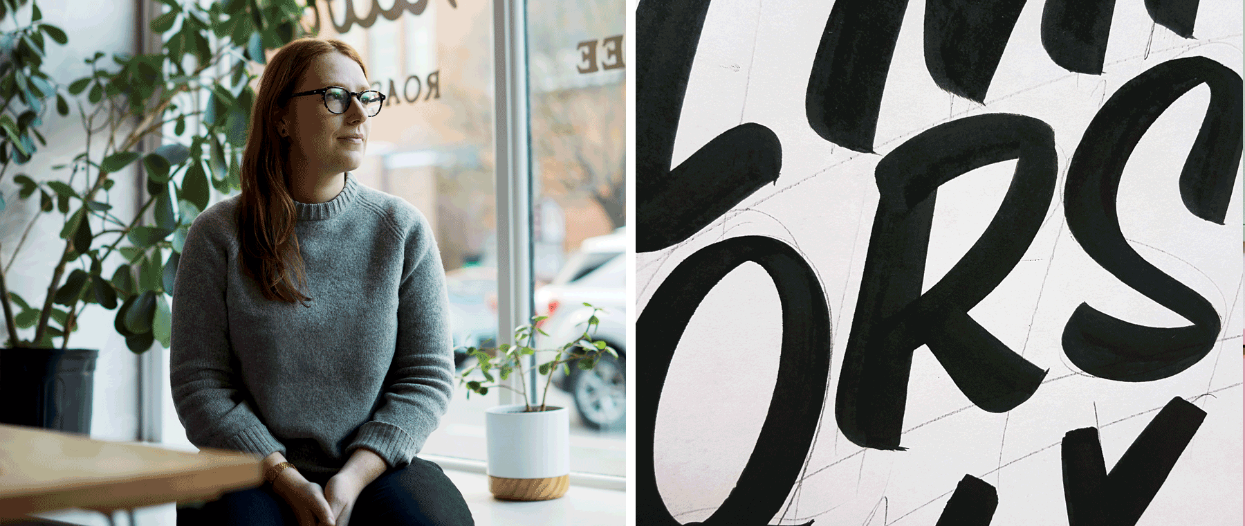 Talking art, life, and Tim Burton with signmaker Pascale Arpin