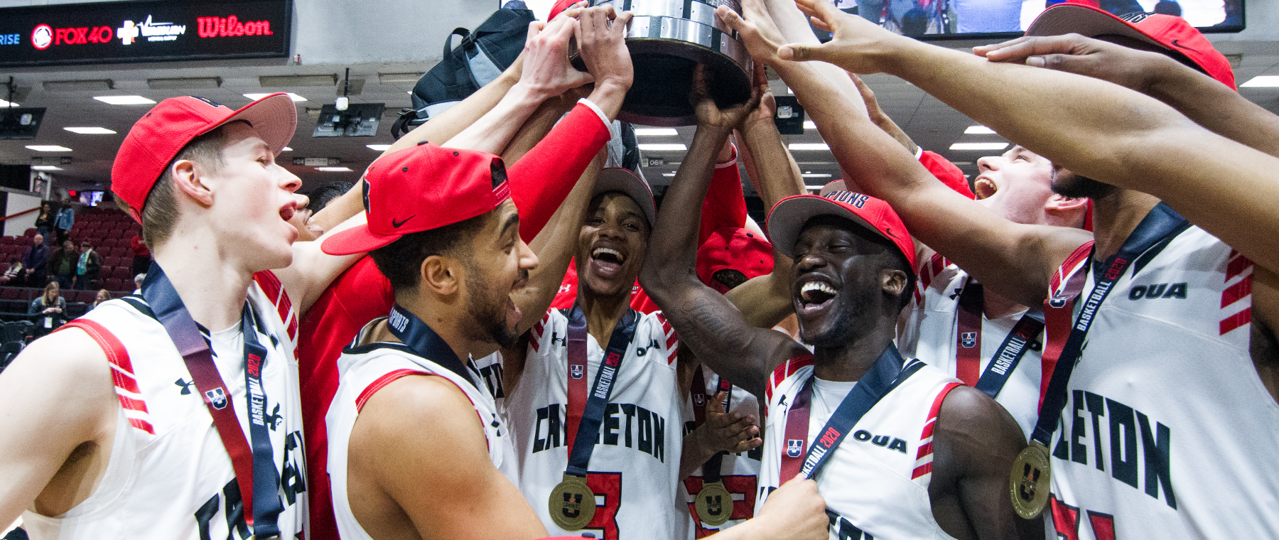 Carleton Ravens win championship at Lansdowne event that combines men's and women's finals