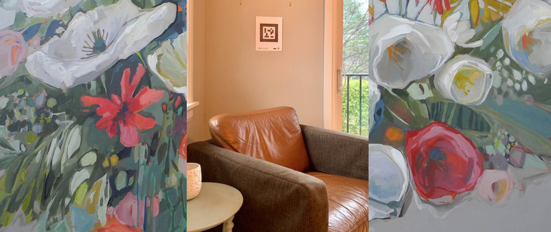 Art in the time of Covid — Wall Space uses tech to bring Nicole Allen paintings to your home