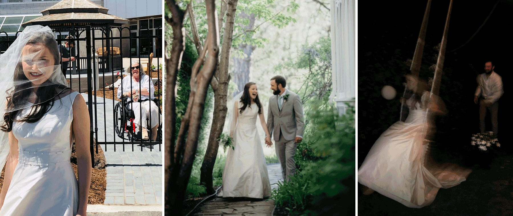 Magical, raw, different: Inside a pandemic wedding