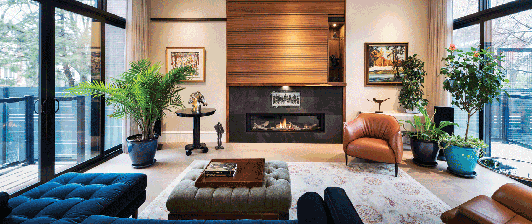Fireplaces We Love: Two great spaces (and how to get the look)