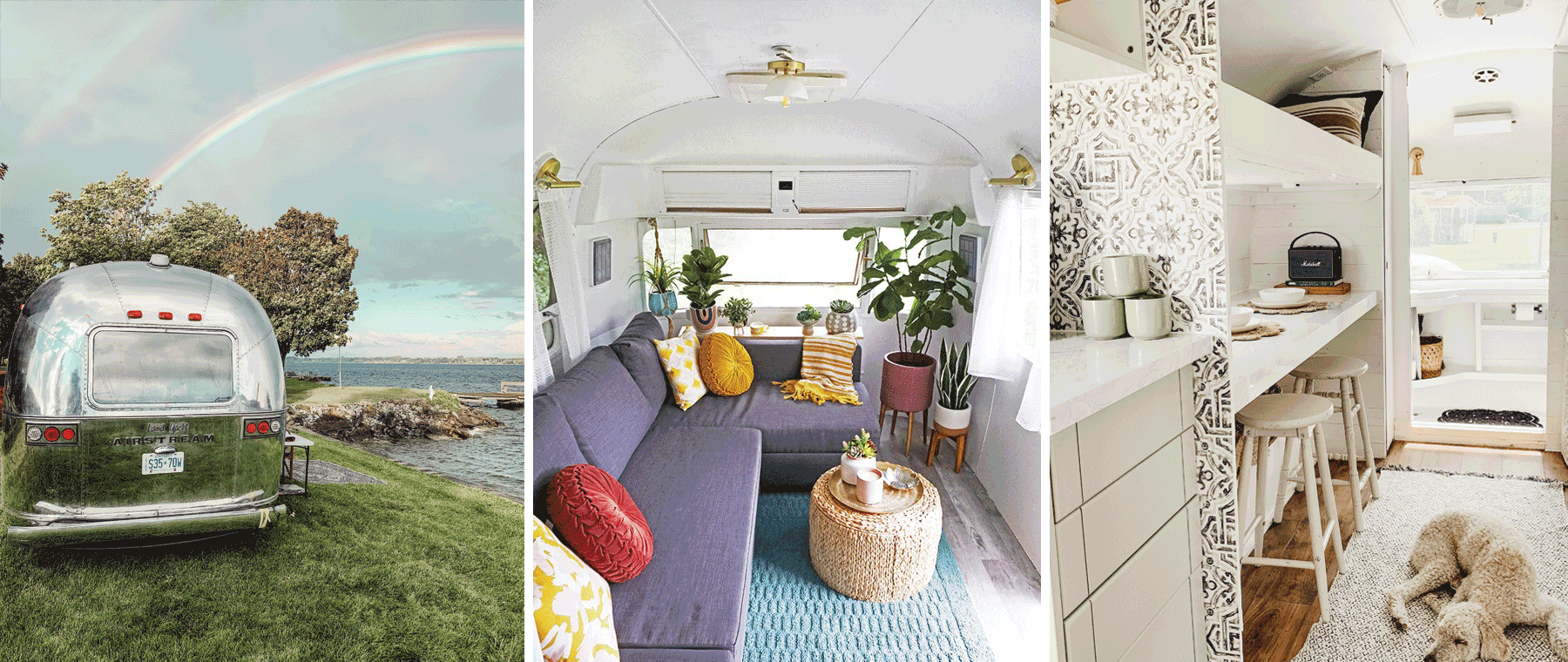 A tale of two (amazingly cute) Airstream trailers