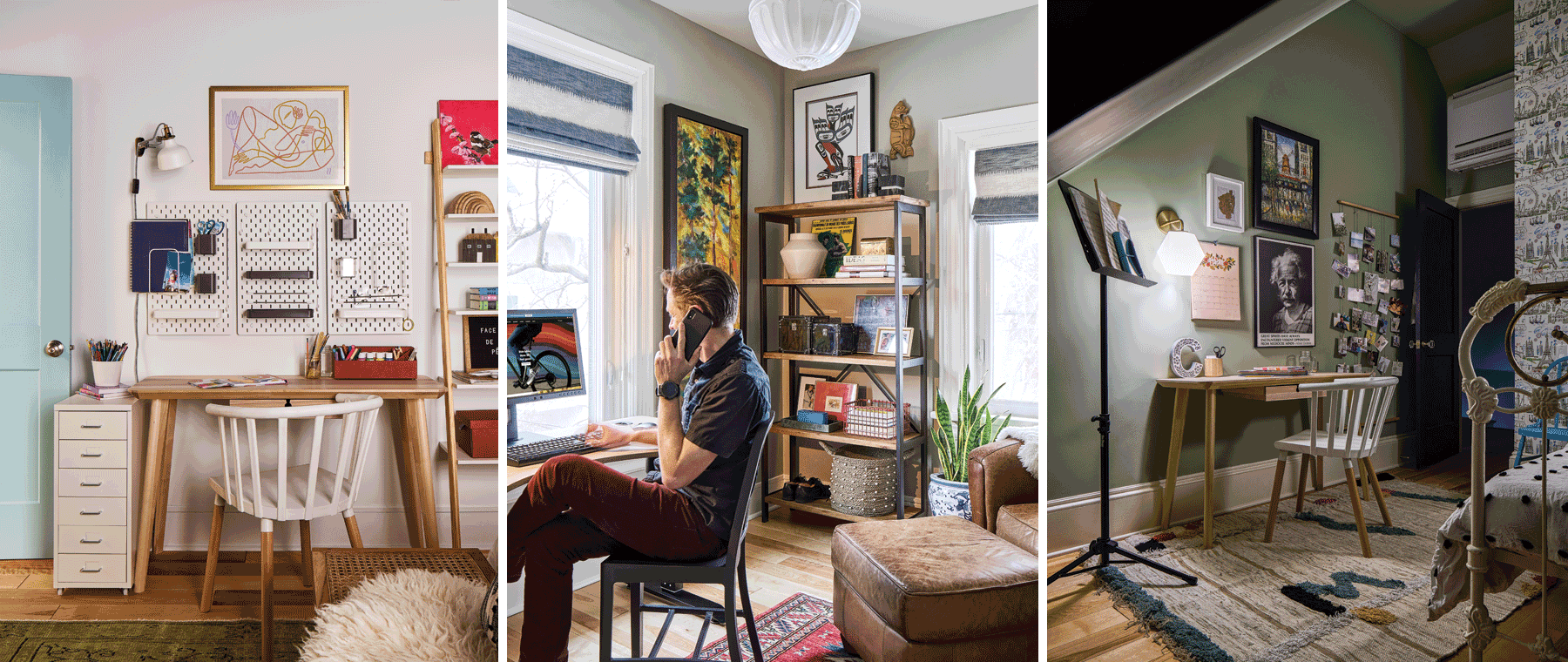 The home-office mini-reno of Grassroots Design's Emma Doucet