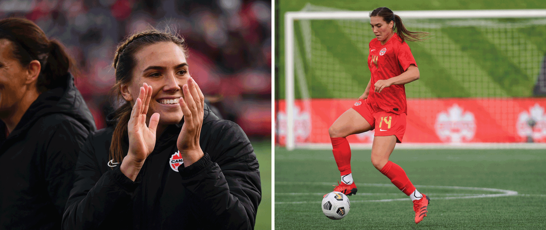 Welcome home Vanessa! Canadian women's soccer team bring their gold medal skills to Lansdowne